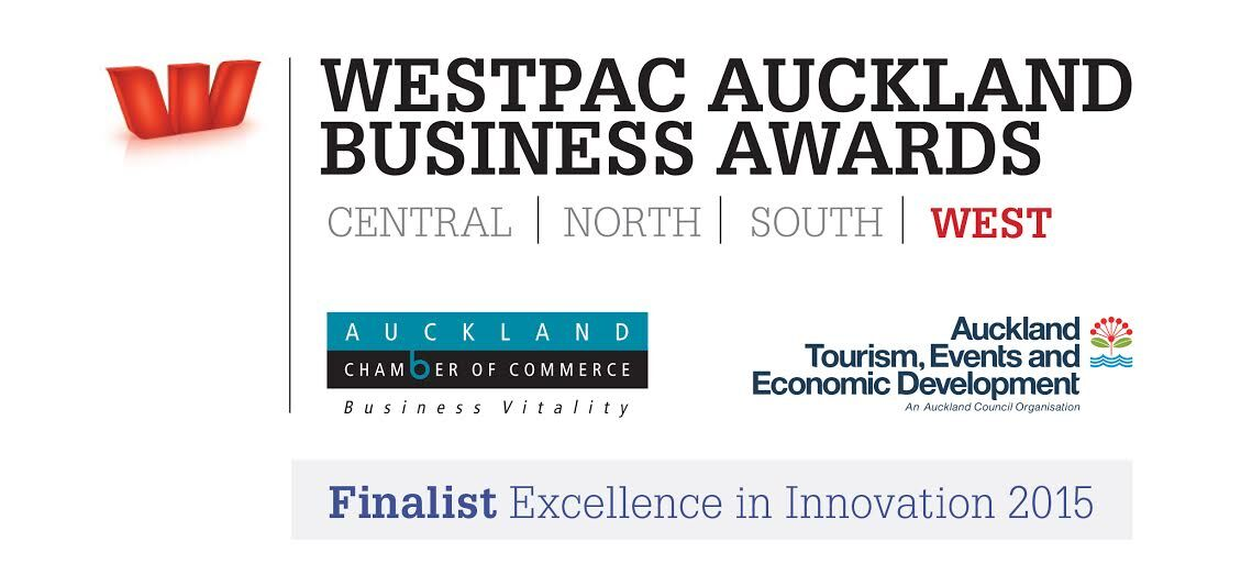 WESTPAC AUCKLAND BUSINESS AWARDS FINALIST WEST Excellence in Innovation