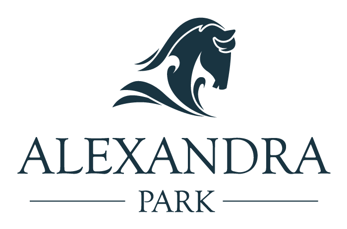 Alexandra Park Logo blue large