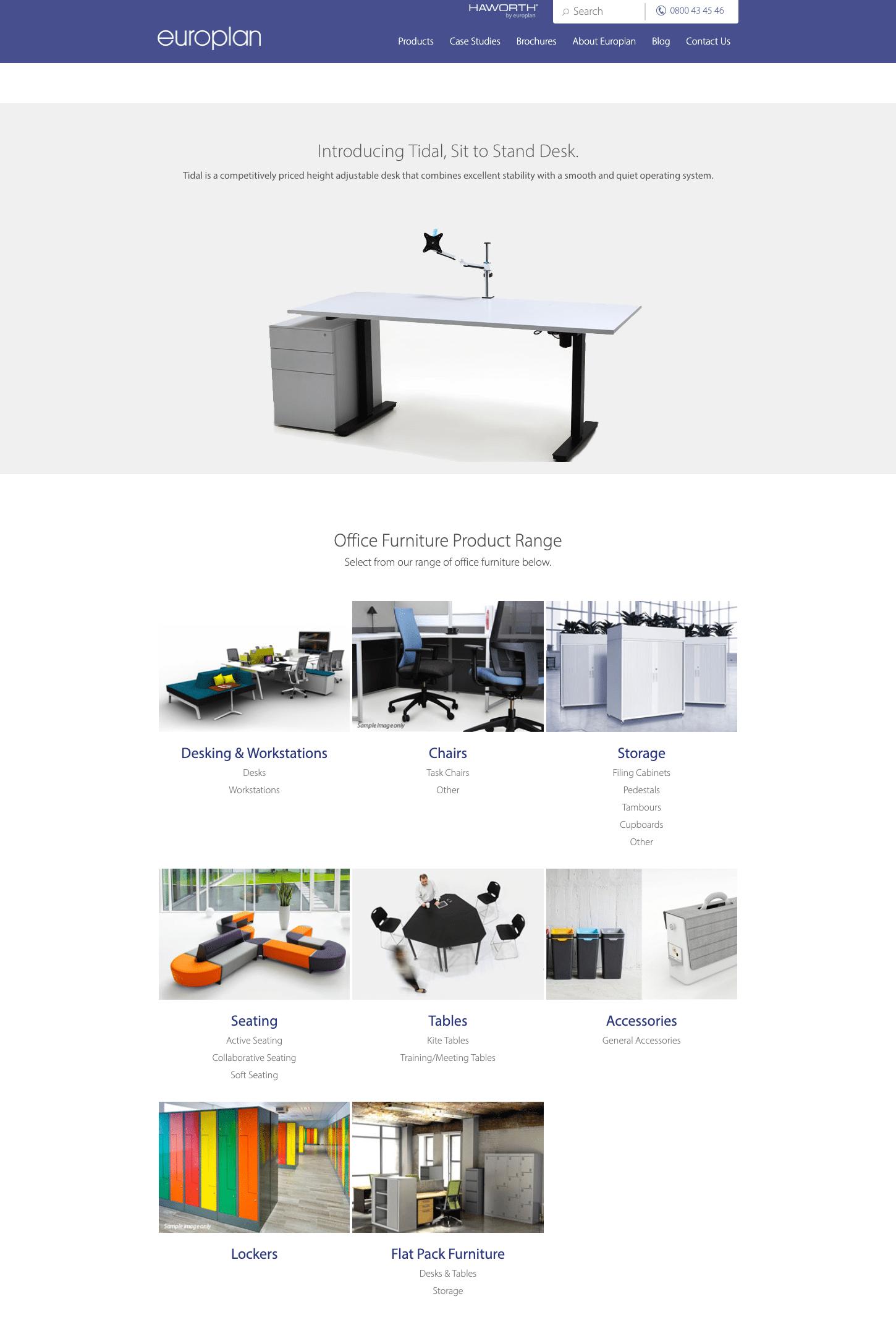 ba europlan website redesign before dt