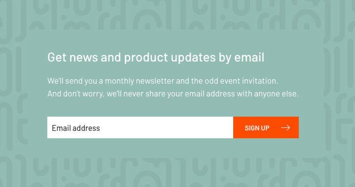 ft europlan website redesign email signup