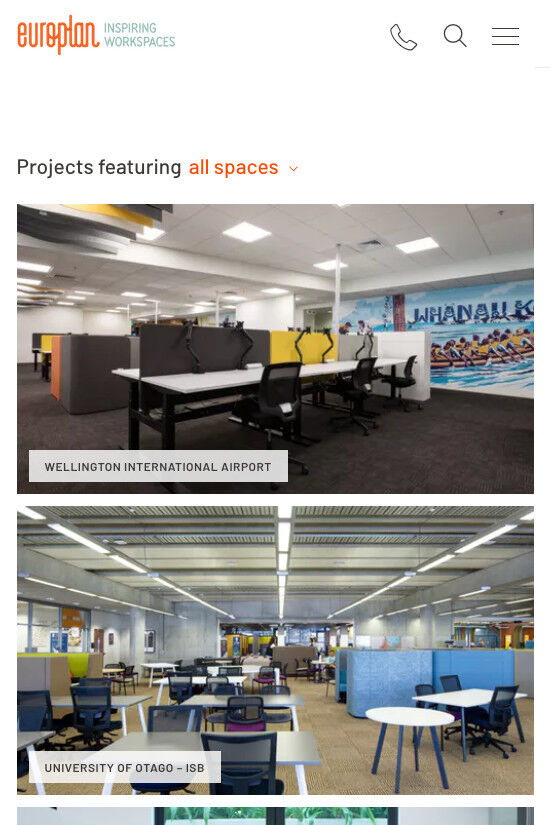 ss europlan website redesign mb projects