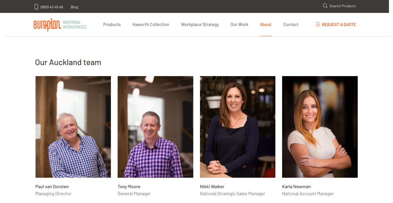 ss europlan website redesign people dt