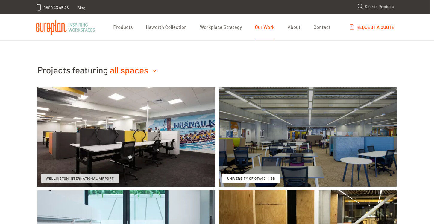 ss europlan website redesign projects dt