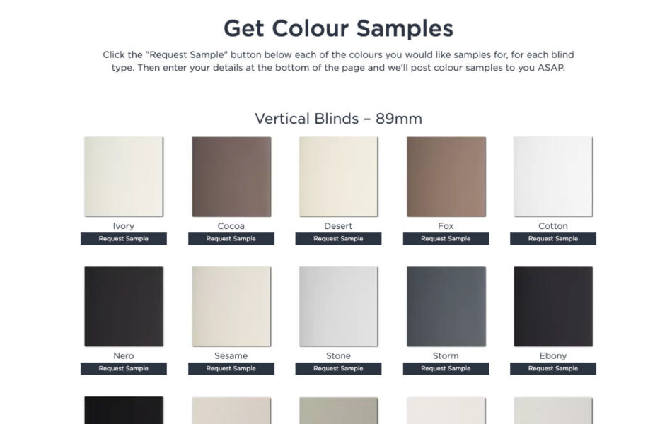 ss theblindstore ecommerce website design samples dt