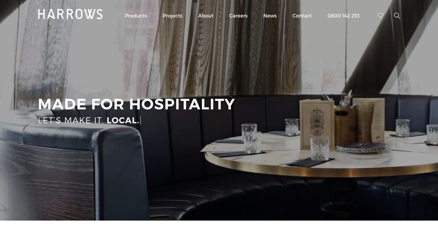 ss harrows website design home dt_1450x750