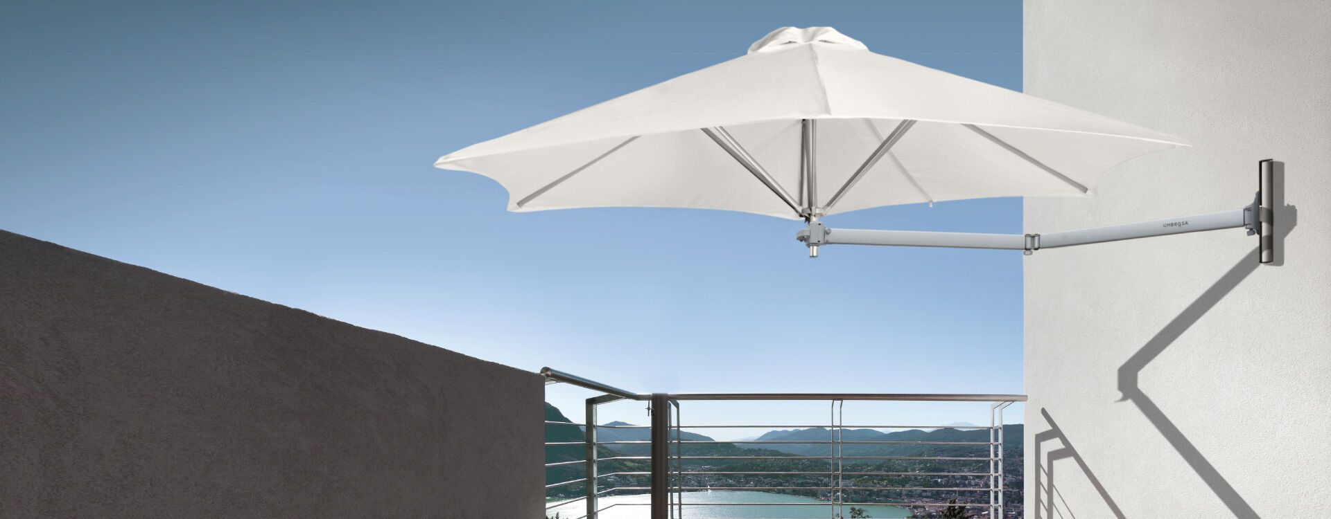 Wall Mounted Outdoor Sun Umbrella