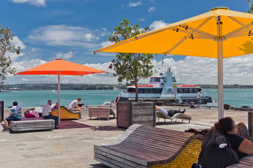 Queens Wharf Tempest Outdoor Umbrellas
