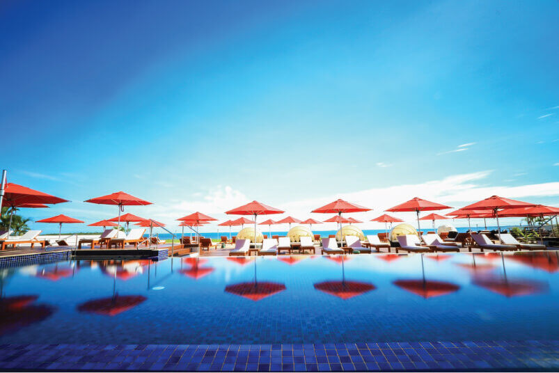 Hilton Fiji Monaco Outdoor Umbrella