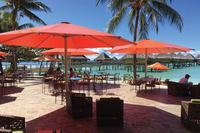 Intercontinental Bora Bora Tempest Commercial Umbrella
