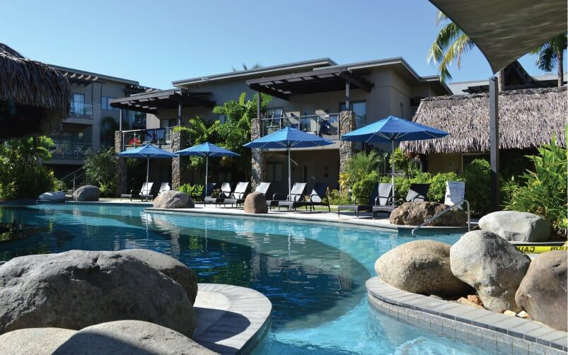 Monaco Outdoor Umbrellas Wyndham Vacation Resort Fiji