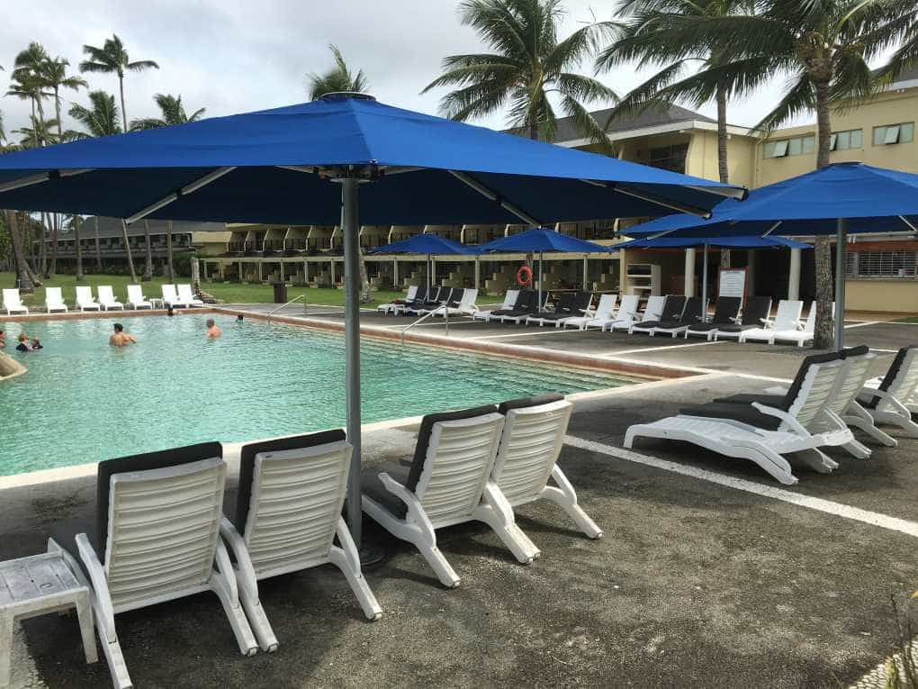 Shangri-La Resort Fiji Tempest Outdoor Umbrellas