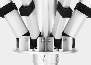 Aluminium Hubs and Arm Connectors