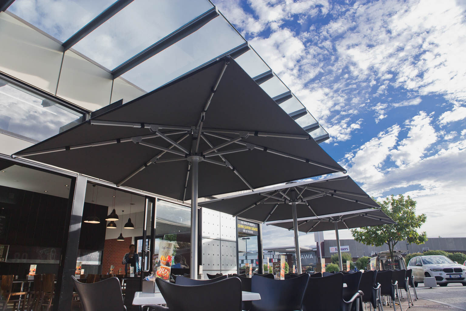 outdoor umbrellas the base te rapa