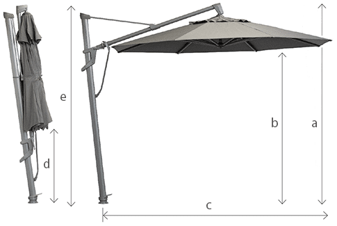 stellar cantilever umbrella specs edit