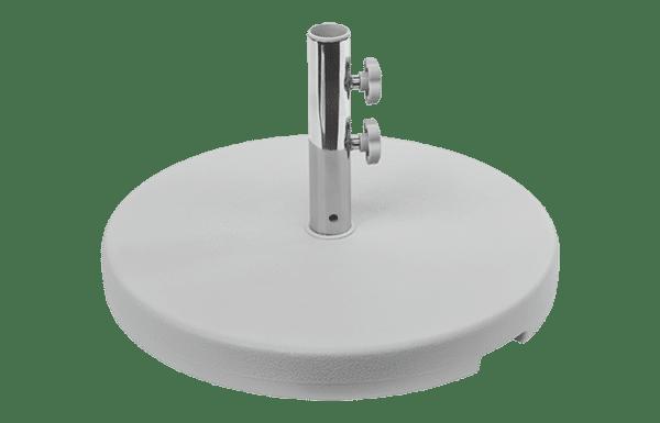 concrete grey umbrella base 30kg dec20