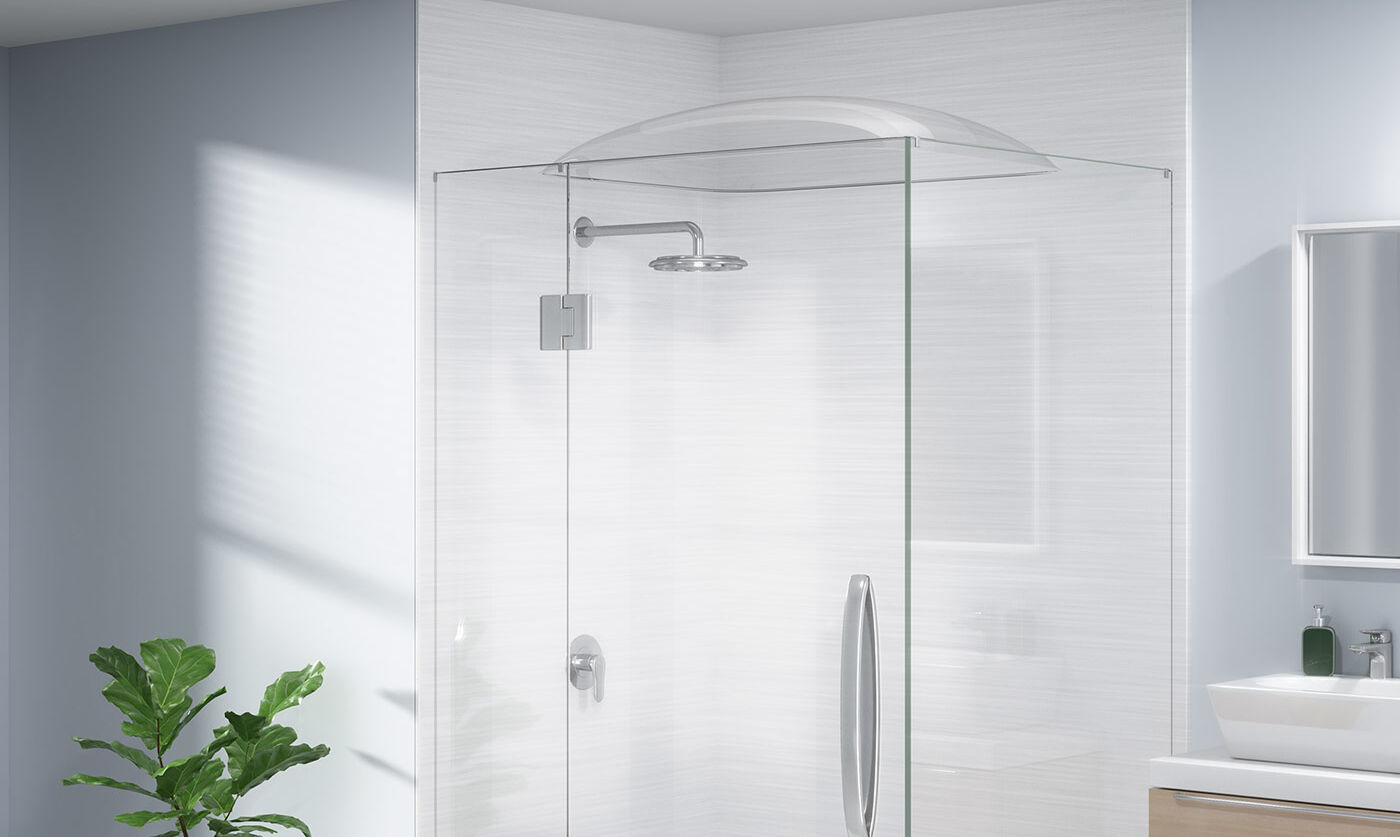 showerdome rectangle rcl