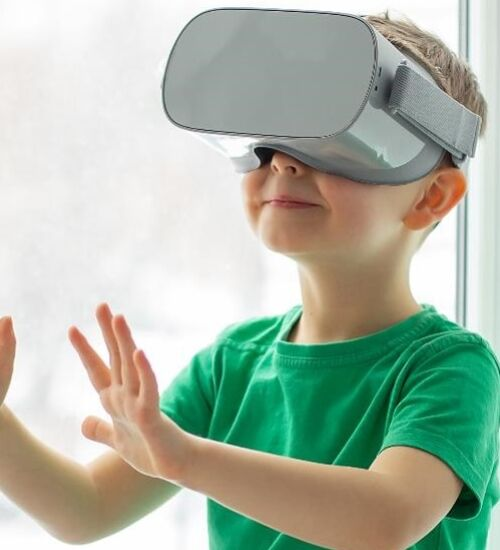 VR young boy web