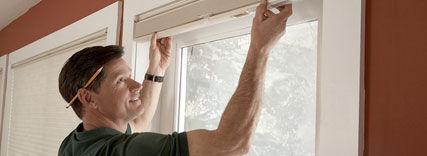 installing blinds