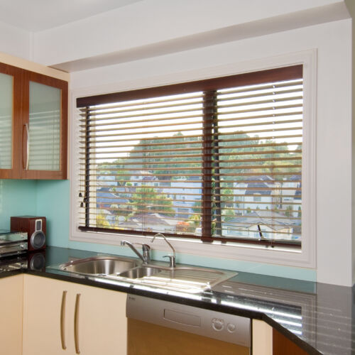 American Poplar Timber Venetian Blind