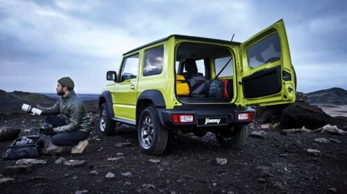 jimny in the mountains