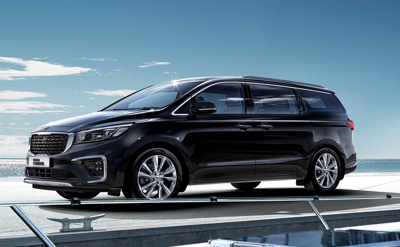 kia carnival black hero
