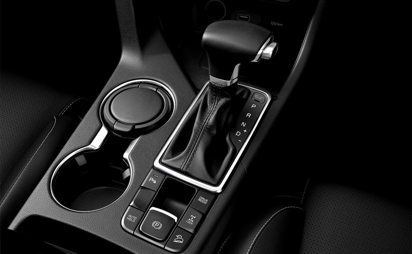 kia sportage gearstick