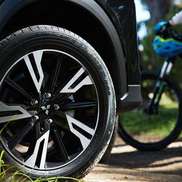 mitsubishi eclipse cross wheels