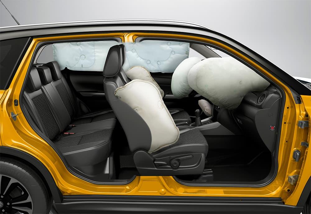 vitara airbags